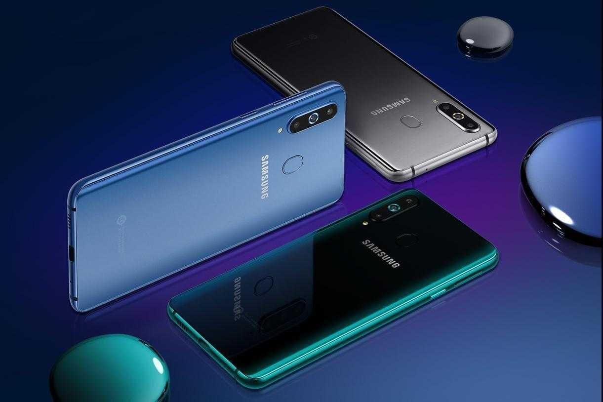 Samsung A9 Pro первым получит камеру в отверстии экрана (Samsung Galaxy A9 ProA8s)