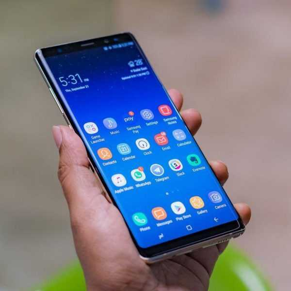 На Galaxy Note8, S8, и S8+ можно поставить Android Pie (Samsung Galaxy Note 8 carousel)
