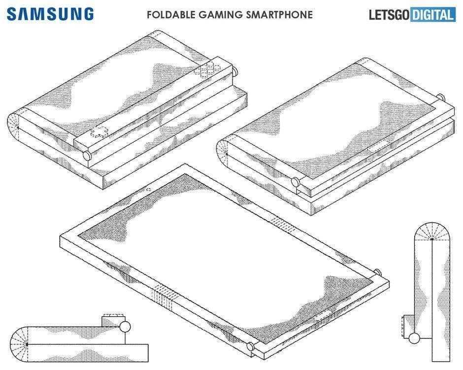 Samsung делает игровой смартфон (Samsung patent)