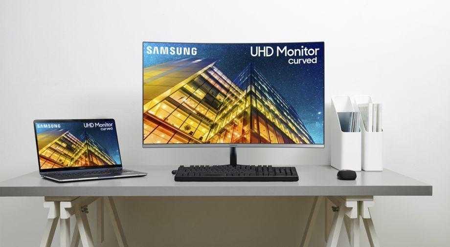 CES 2019. Изогнутый 49-дюймовый игровой монитор Samsung с разрешением QHD (Samsung 2019 Monitors main 3 1)
