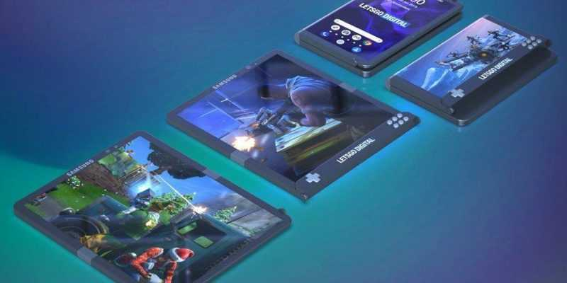 Samsung делает игровой смартфон (Samsungs take on the gaming smartphone is bold and peculiar at the same time)
