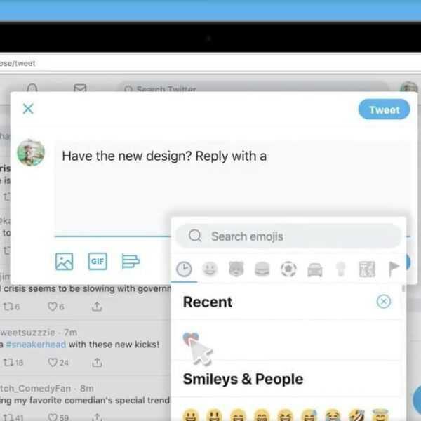 Twitter запустил новый веб-интерфейс с кнопкой для эмоджи (Screen Shot 2019 01 22 at 3.30.17 PM.0.png)