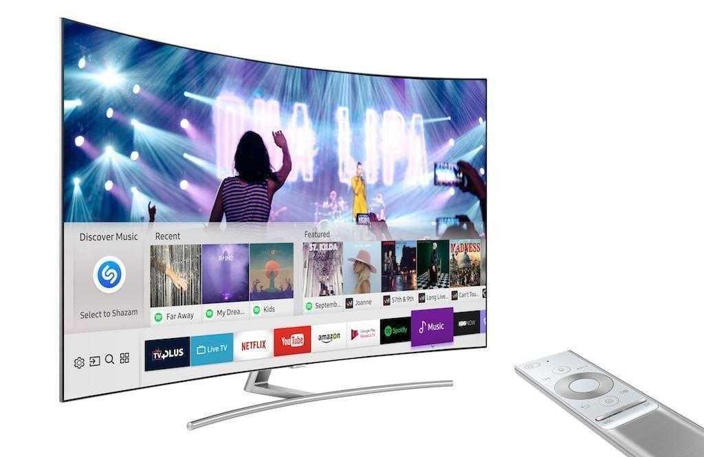 CES 2019. Samsung добавит поддержку Google Assistant в телевизоры (Shazam Music Service)