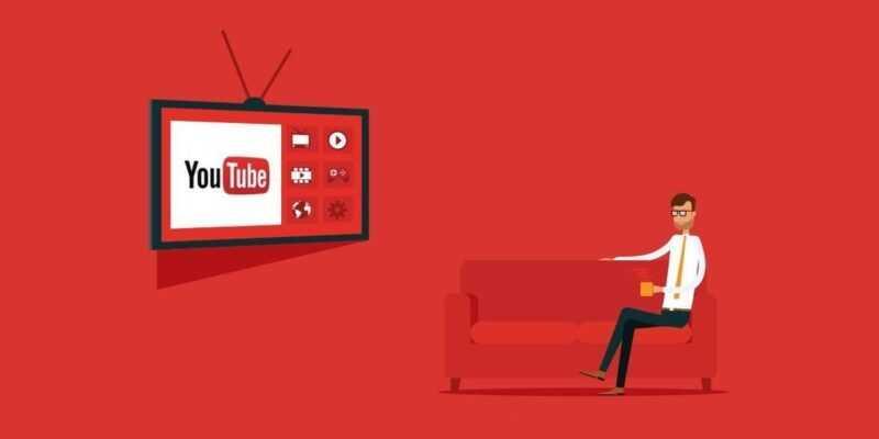 YouTube пытается переделать систему рекомендаций (YouTube TV)