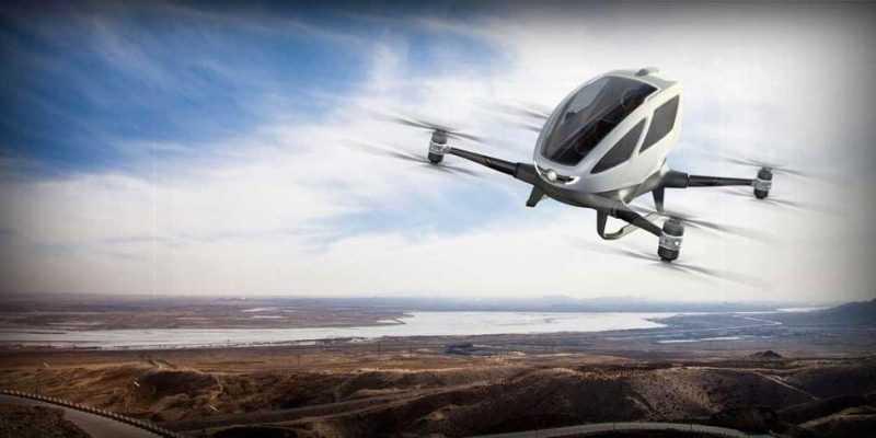 Boeing испытал своё первое беспилотное такси (bezpilotnik)