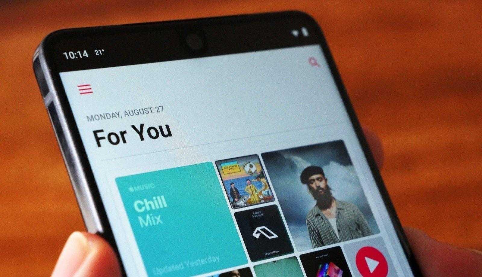 Android-планшеты получили Apple Music в последнем обновлении (dims 2 1)