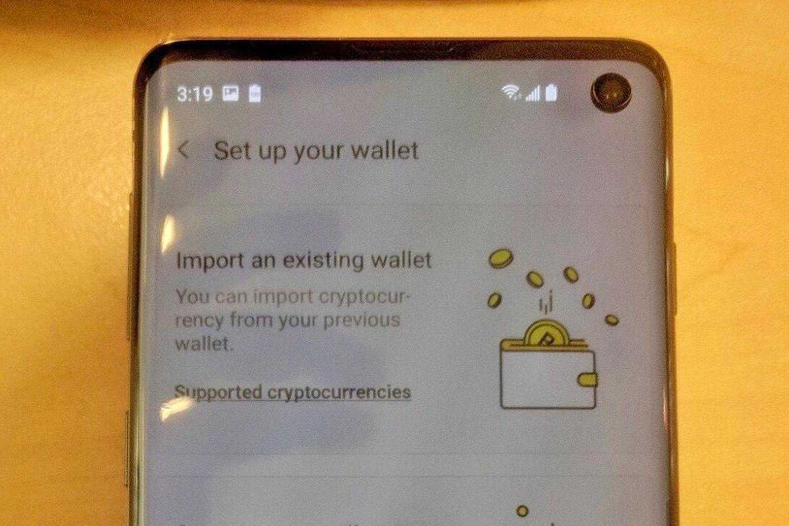 Cлив: в Samsung Galaxy S10 будет криптовалютный кошелёк (dims 4)