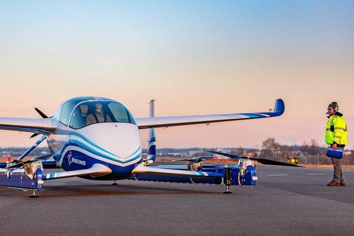 Boeing испытал своё первое беспилотное такси (in article a60ca49103)