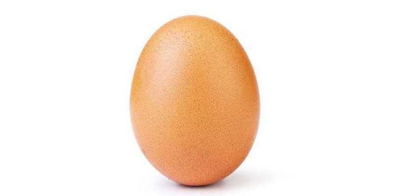 Фото яйца побило рекорд Кайли Дженнер по лайкам в Instagram (instagram egg.0 2)
