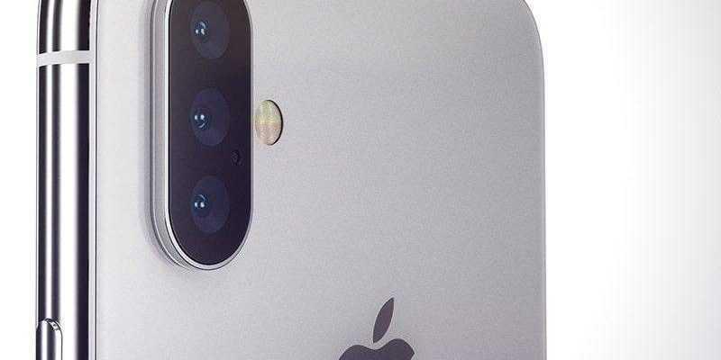 У iPhone XS Max будет 3 камеры (iphone x triple lens martin hajek idropnews 800x652 e1548915913441)