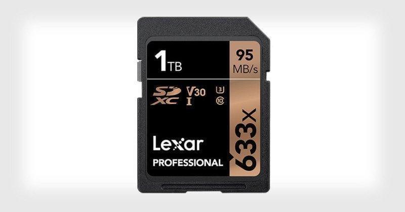 CES 2019. Lexar представила SD-карту объемом 1 ТБ (lexar1tbsdxccard)