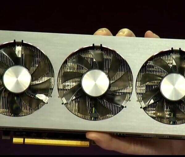 CES 2019. AMD представила видеокарту следующего поколения Radeon VII (radeon vii ces 2019)