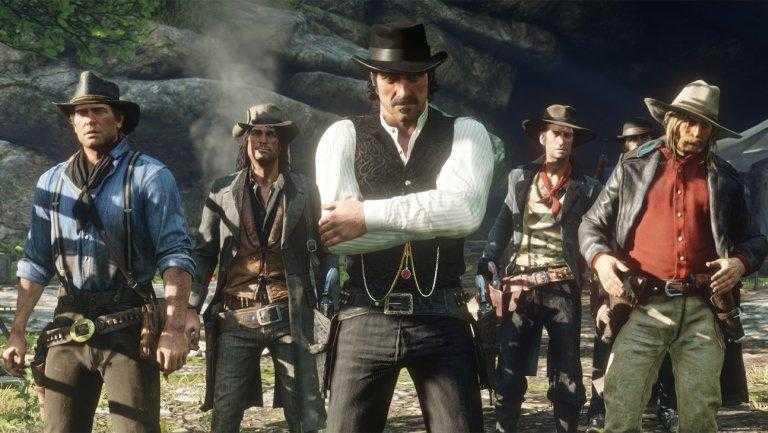 Лучшие игры на PlayStation 4 в 2019 году (red dead redemption 2 publicity h 2018)