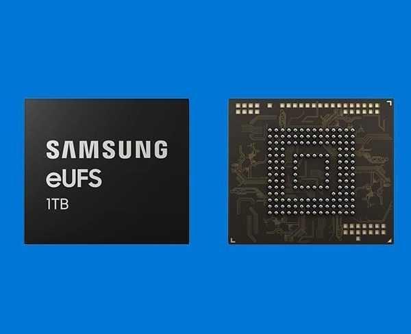 Samsung разрабатывает первый чип памяти 1 ТБ для смартфонов (samsung eufs)