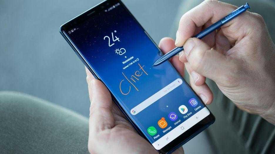На Galaxy Note8, S8, и S8+ можно поставить Android Pie (samsung galaxy note 8 s pen features 11)