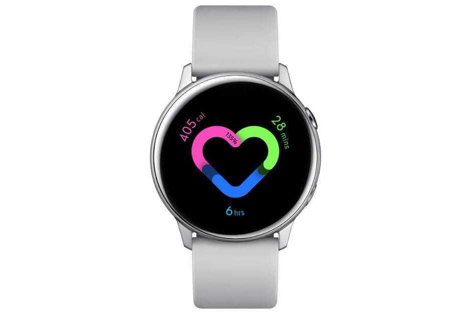 Samsung Galaxy Watch Active выпущены официально (04. Galaxy Watch Active Silver)