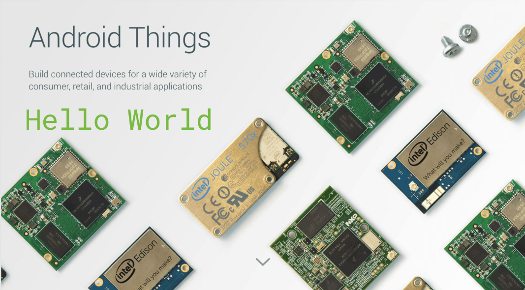 Google переформатирует Android Things ()