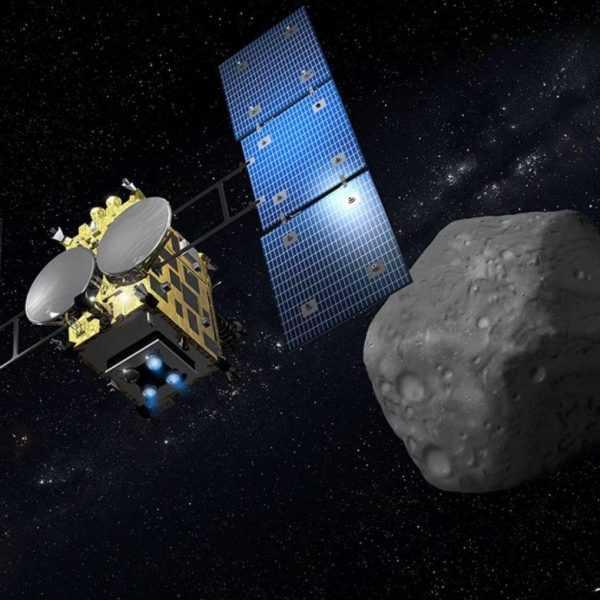 Япония успешно приземлила свой космический корабль Hayabusa2 на астероид Ryugu (2018 06 15 210642 1170x781 1)