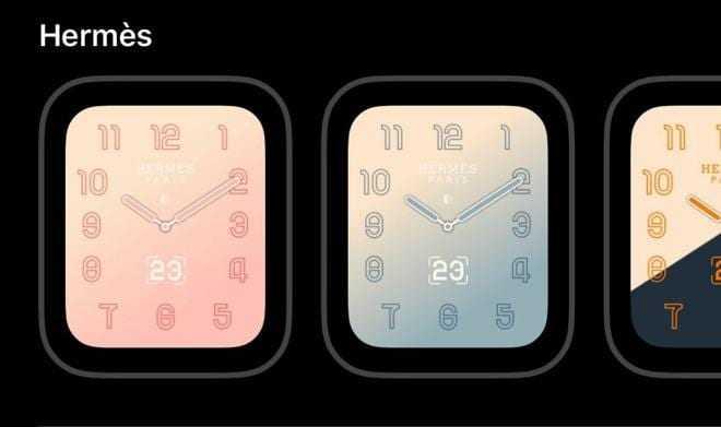 Apple добавил градиентные циферблаты для Apple Watch Hermes в watchOS 5.2 (29808 48417 hermes gradient applewatch l)