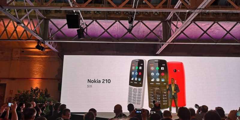 MWC 2019. Nokia представила кнопочный Nokia 210 за 35 долларов (52865290 2755160514514107 8546945817657737216 o)