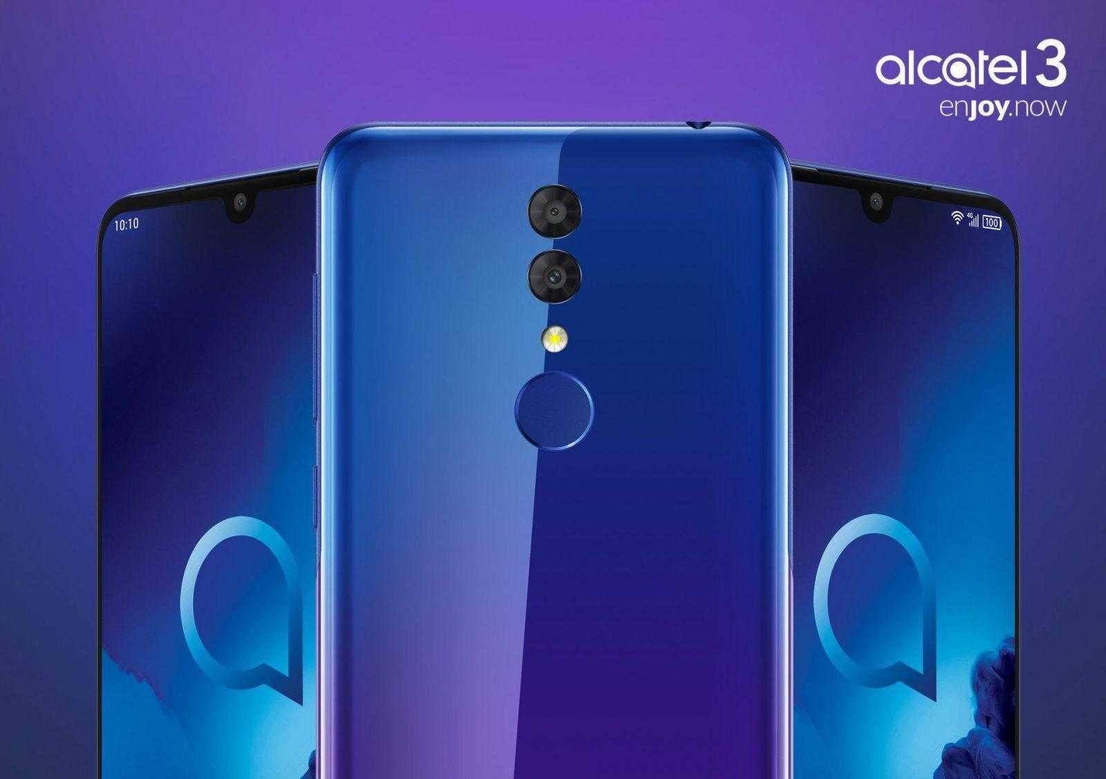 MWC 2019. Alcatel показала смартфоны 3-й серии Alcatel 3 и 3L (Alcatel 3 pressview 02)