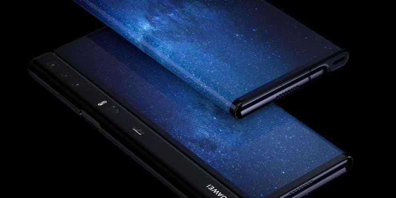 MWC 2019. Huawei представила свой первый сгибающийся смартфон Huawei Mate X с поддержкой 5G (D0LNJeiXQAErEUS)