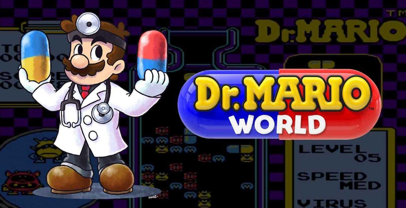 Игра Dr. Mario World от Nintendo выйдет на iOS и Android летом (DR Mario World)