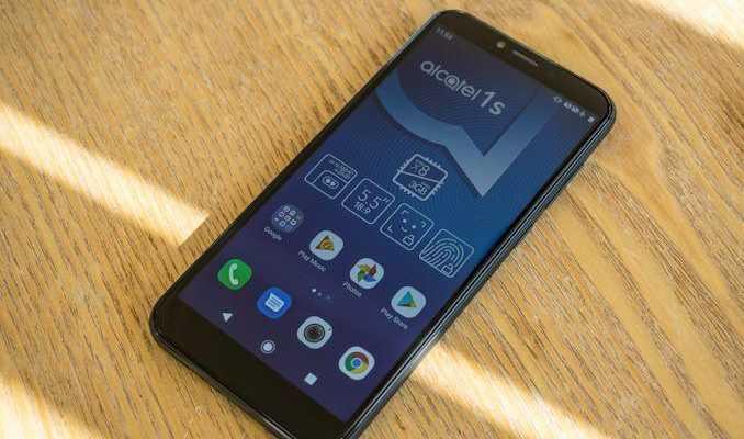 MWC 2019. TCL выпустила Alcatel 1S - 5,5-дюймовый IPS-смартфон (DSC 0725 678x452)