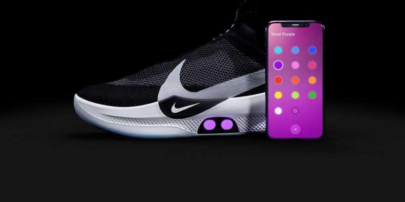 Неработающие кроссовки от Nike (DT AdaptBB Innovation CDP P5)
