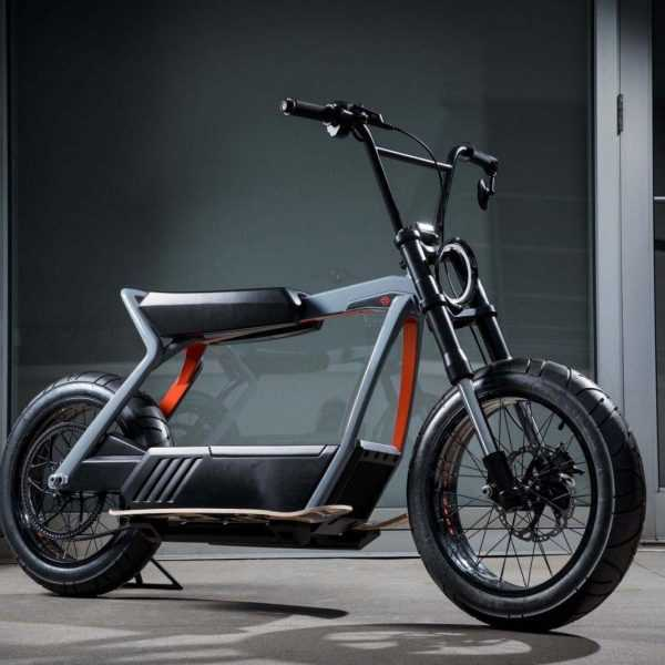 Harley-Davidson делает электроскутер (Harley Davidson Electric Scooter concept 03)