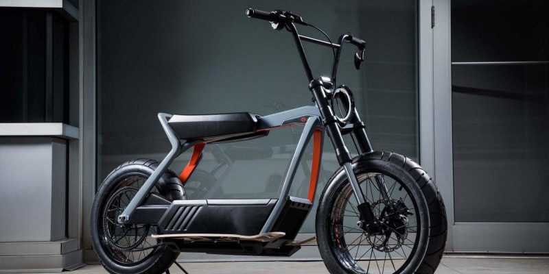 Harley-Davidson делает электроскутер (Harley Davidson Electric Scooter concept 03)