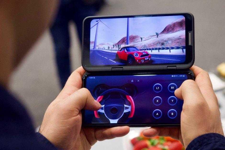 MWC 2019. LG представила свой 5G-смартфон LG V50 ThinQ (LG V50 ThinQ hands on 26)