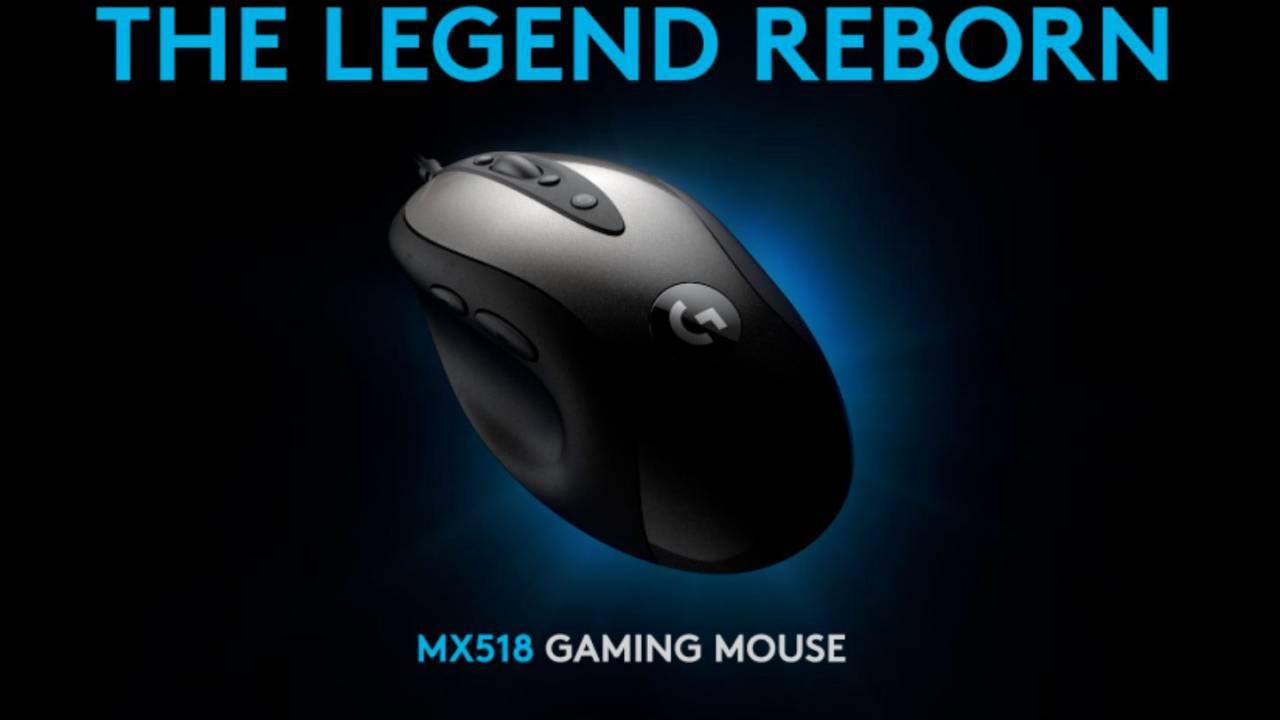 Logitech возрождает свою классическую игровую мышь MX518 (Logitech MX518)
