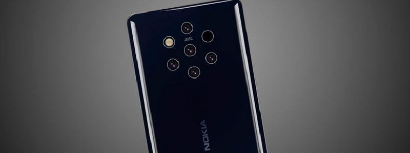 Прямая видео-трансляция презентации Nokia 9 PureView на MWC 2019 (Nokia 9 PureView 1)