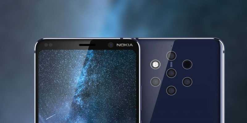 Фотографии с неанонсированного Nokia 9 PureView с 5-ю камерами выложили в Instagram (Nokia 9 PureView Geekbench Test)