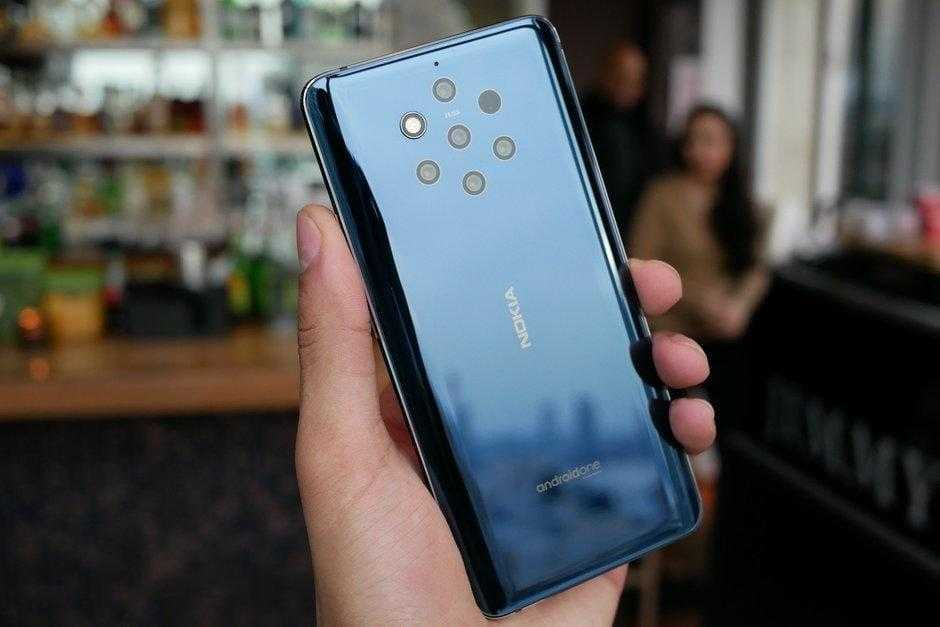 MWC 2019. Все новинки Nokia: 9 PureView, 1 Plus, 3.2, 4.2, 210 (Nokia 9 PureView Hands On 4)