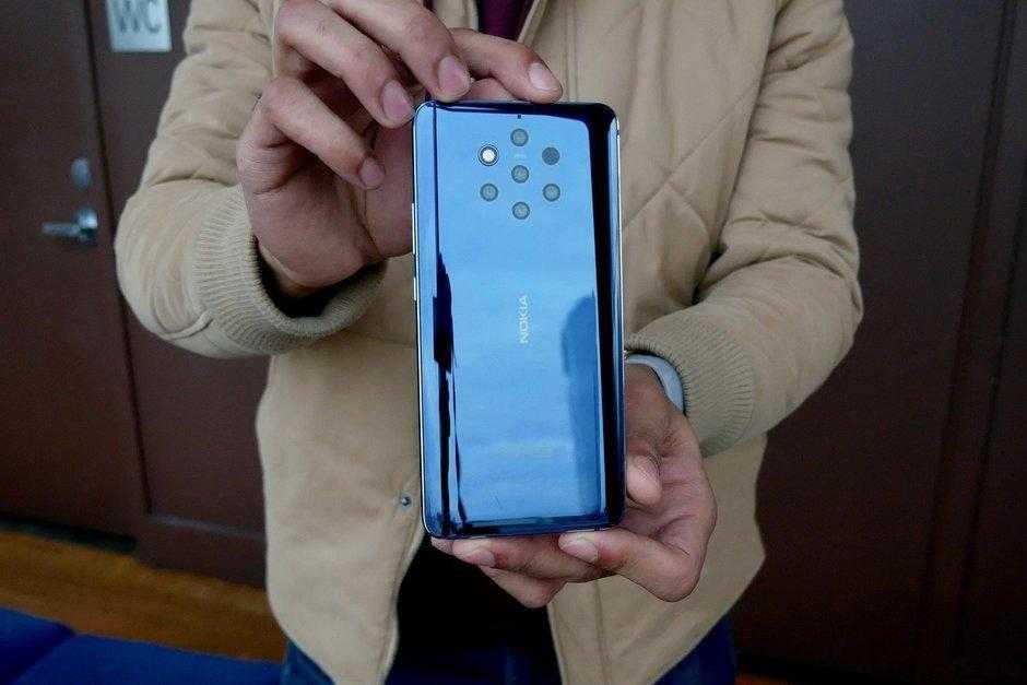 В России открыт предзаказ смартфона с 5-ю камерами Nokia 9 PureView (Nokia 9 PureView Hands On 5)