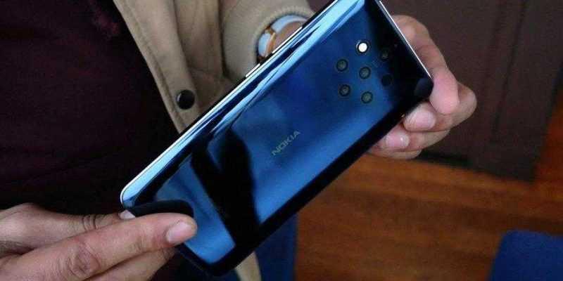 В России открыт предзаказ смартфона с 5-ю камерами Nokia 9 PureView (Nokia 9 PureView Hands On 7)