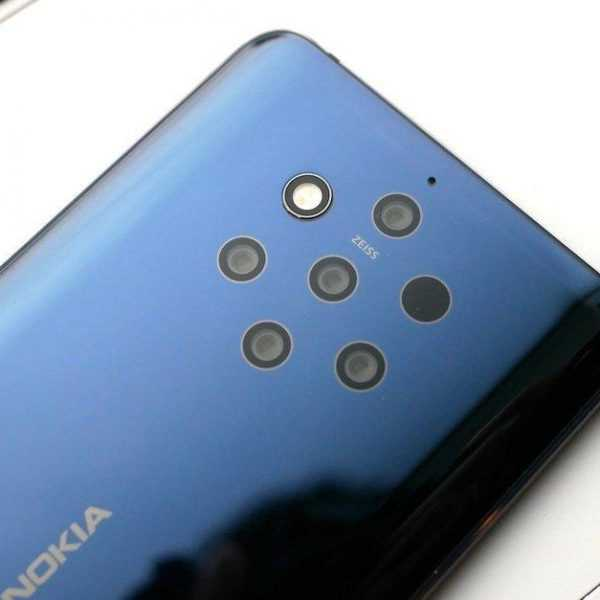 MWC 2019. Nokia 9 PureView: первый в мире смартфон с 5-ю камерами (Nokia 9 PureView the worlds first quintuple camera smartphone is here)