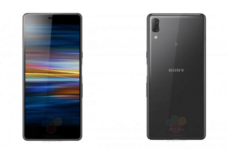 В сети появились рендеры нового смартфона Sony Xperia L3 (Renders show how Sony plans to avoid the notch on the Xperia L3)
