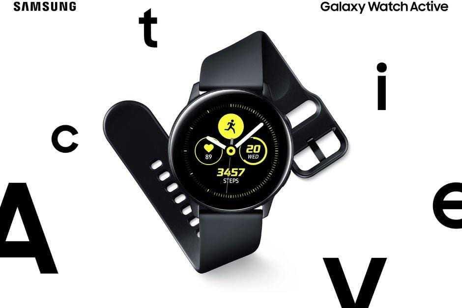 Samsung Galaxy Watch Active выпущены официально (Samsung Galaxy Watch Active goes official with sleek design focus on fitness)