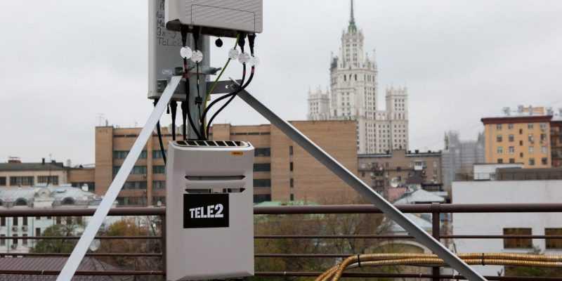 Tele2 покрыла сетью в Москве объекты площадью более 1 млн кв. м (Tele2 technical development)