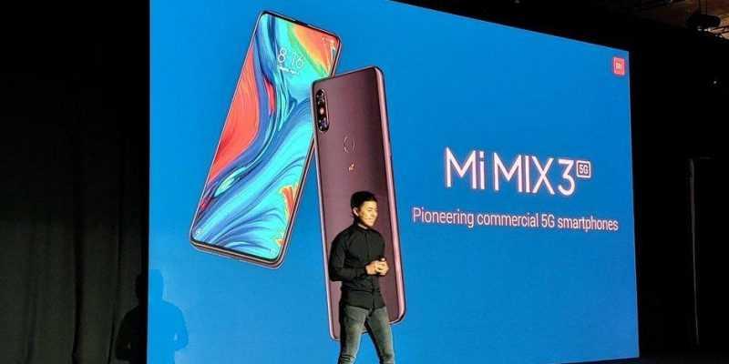 MWC 2019. Xiaomi представила свой первый 5G-смартфон (The Xiaomi Mi Mix 3 5G is here and... its not that expensive)