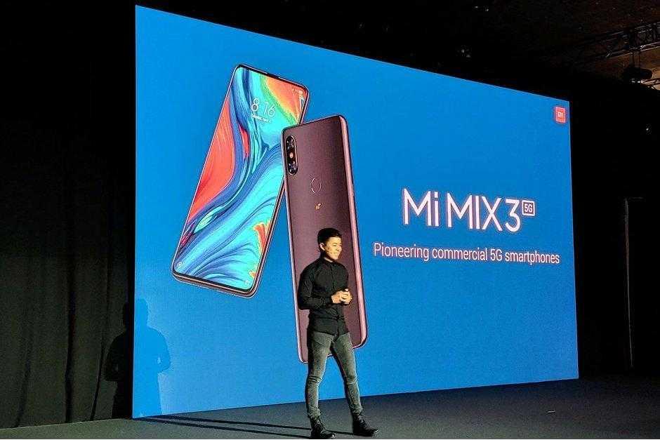 Самые интересные смартфоны на MWC 2019 (The Xiaomi Mi Mix 3 5G is here and... its not that)