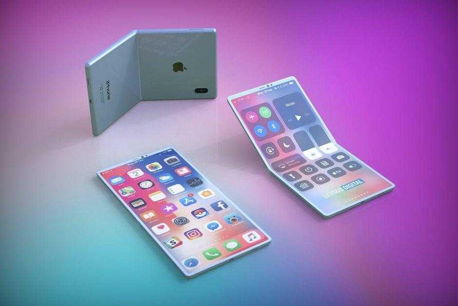 Так может выглядеть складной смартфон Apple (This is what Apples foldable smartphone could look like)