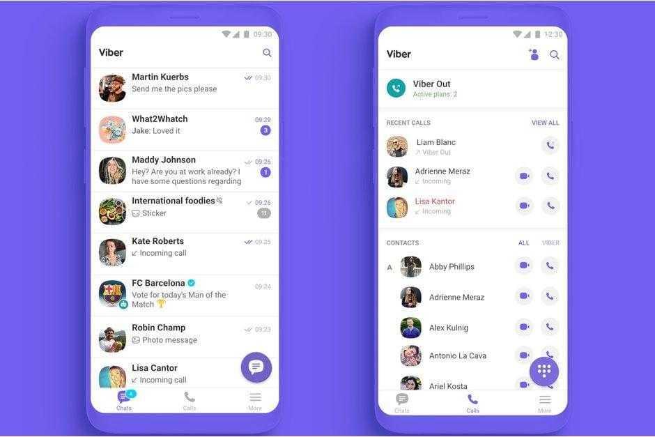 В Viber 10 новый дизайн, групповые звонки и другие обновления (Viber 10 released with brand new design group calls faster chats more)