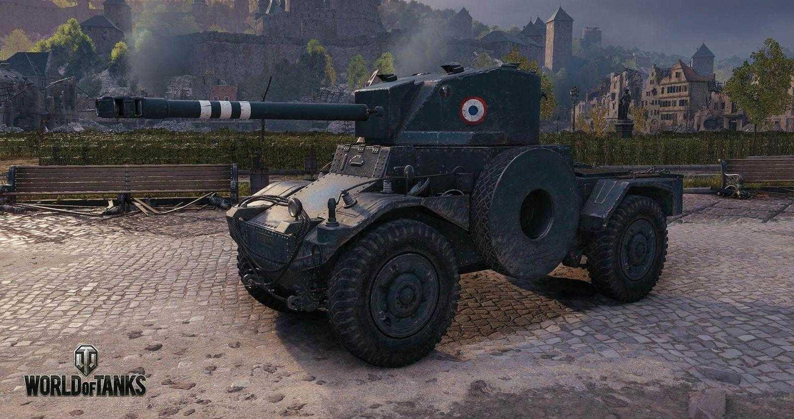 В World of Tanks появились колёсные бронемашины (WOT Wheeled Vehicles Screenshots 6)