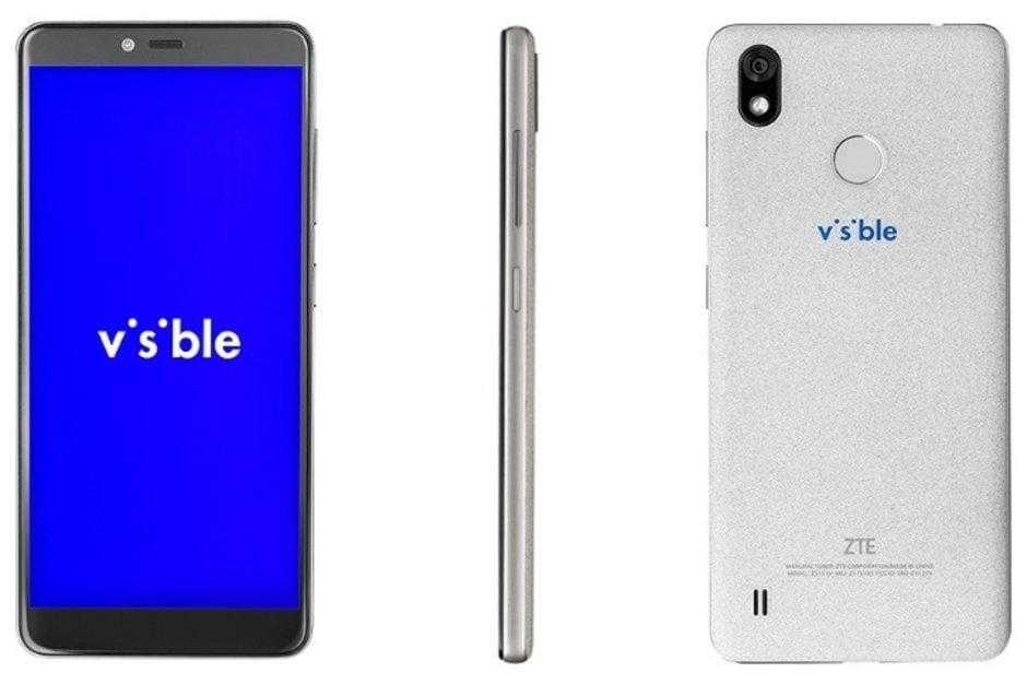 ZTE пытается вернуться в США с телефоном Visible R2 (ZTE makes a discreet US carrier comeback with the 99 Visible R2)
