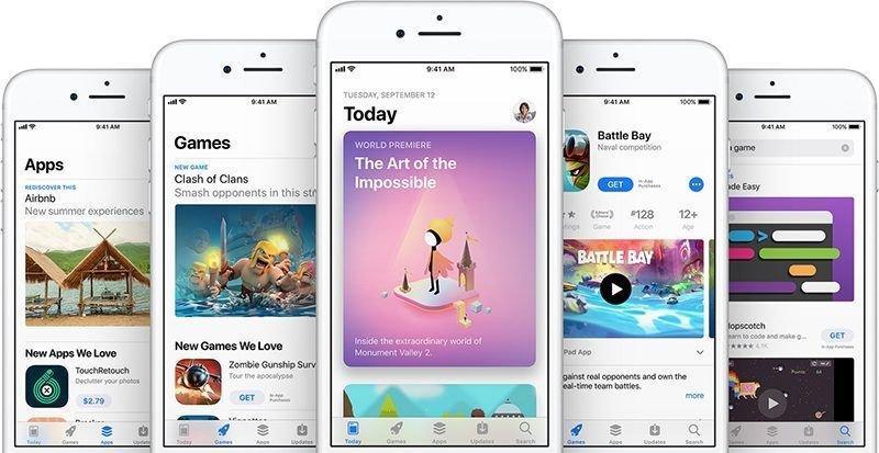 Разработчики приложений iOS смогут устанавливать скидки на подписки (app store trio 800x413 1)