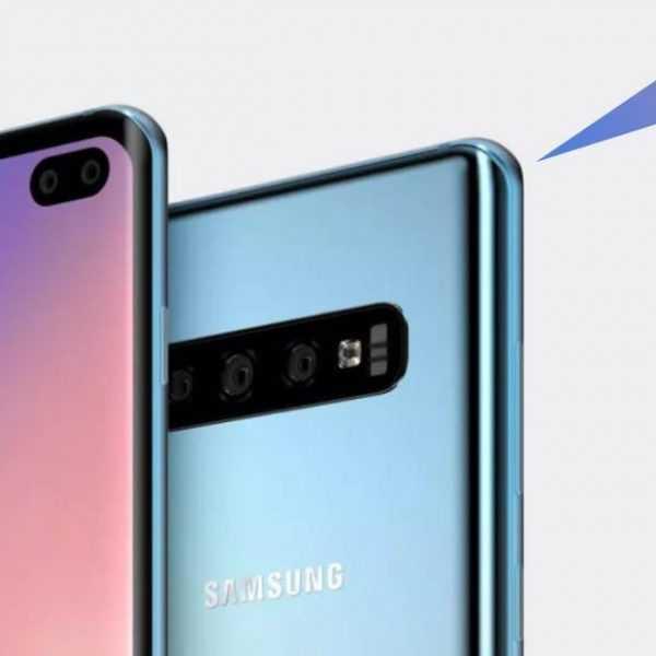 В сеть утекли официальные фото Samsung Galaxy S10+ (closer2)
